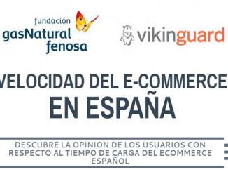 Primer estudio velocidad ecommerce en España