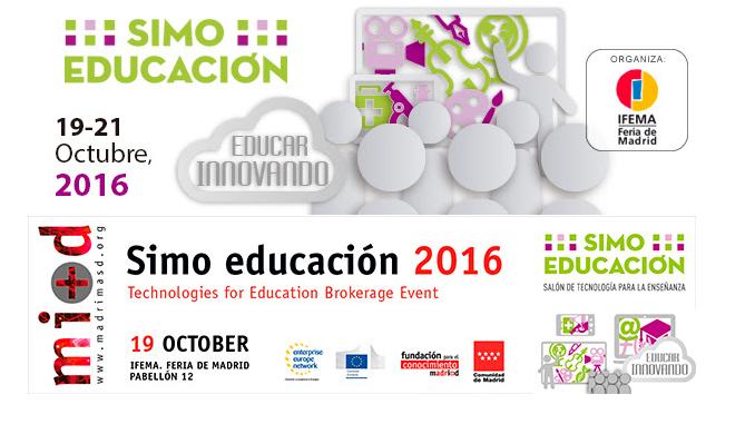 Encuentro de cooperación empresarial y emprendimiento en tecnologías para la enseñanza en SIMO EDUCACIÓN 2016