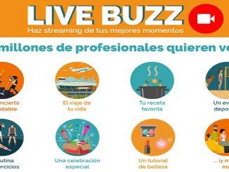 beBee Lanza Live Buzz