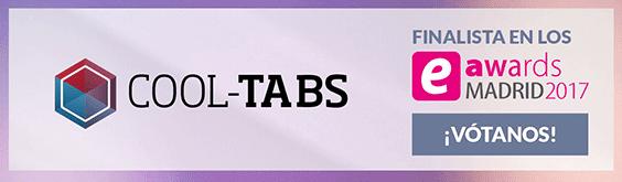 Cool Tabs es finalista de los Premios eAwards Madrid 2017