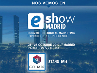 Cool Tabs finalistas en los eAwards Madrid 2017