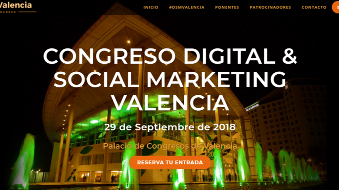 Congreso Digital y Social Marketing Valencia
