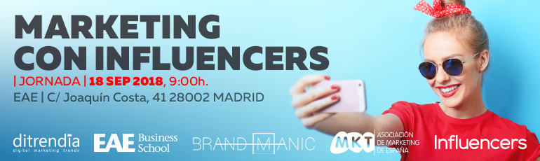 I Jornada sobre el marketing con influencers