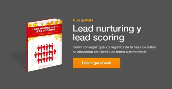 Guía gratuita - lead nurturing y lead scoring