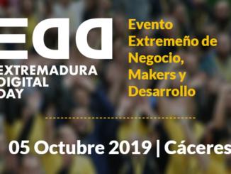 Presentación Oficial del Extremadura Digital Day 2019 #EDD19