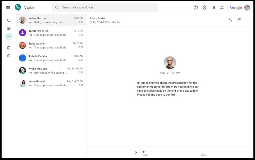 Google Voice - La herramienta para mantenerte conectado con tu equipo