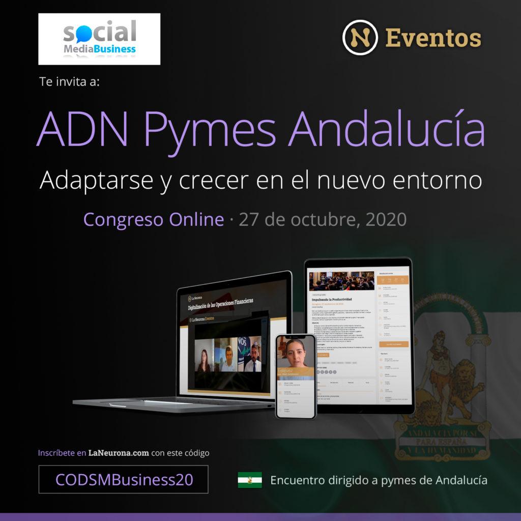 Las pymes andaluzas tienen una cita online en ADN PYMES