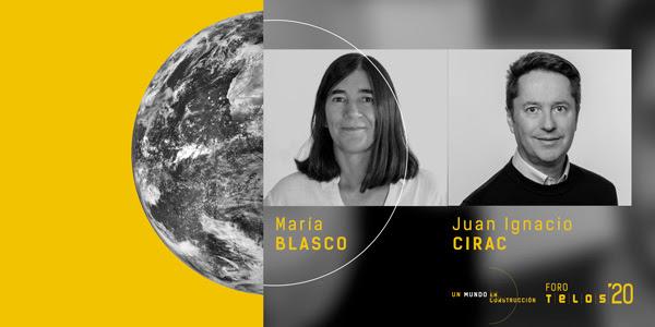 Foro Telos 2020. Encuentro con María Blasco y Juan Ignacio Cirac
