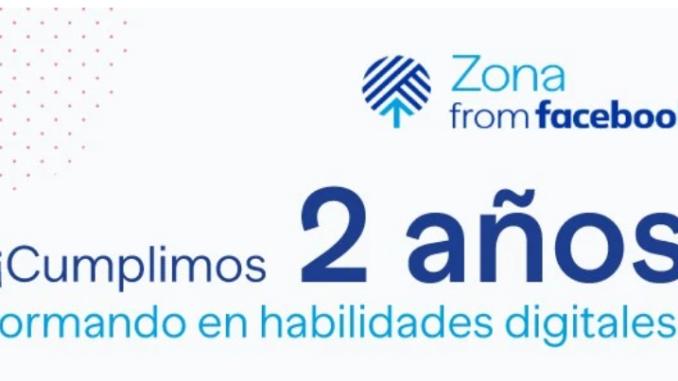 II Aniversario Zona from Facebook: Más de 100.000 personas en toda España han recibido formación en habilidades digitales