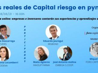 Mesa redonda online Casos reales de Capital riesgo en pymes (II)