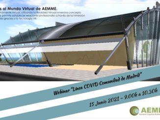 Plataforma Virtual Webinar Línea COVID Comunidad de Madrid